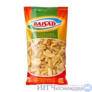 Картофельные дольки в кожуре  Байсад