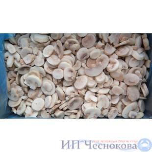 Грибы шампиньоны резаные